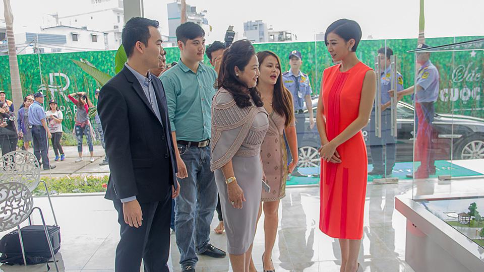 Xa Thi Mạn tìm hiểu dự án bất động sản Việt Nam