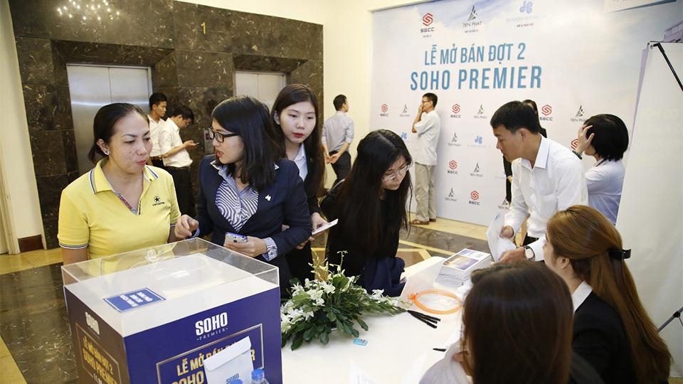 Lễ mở bán đợt 2 dự án Soho Premier 1