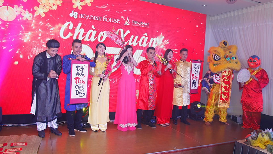 Tiến Phát year end party 2015 3