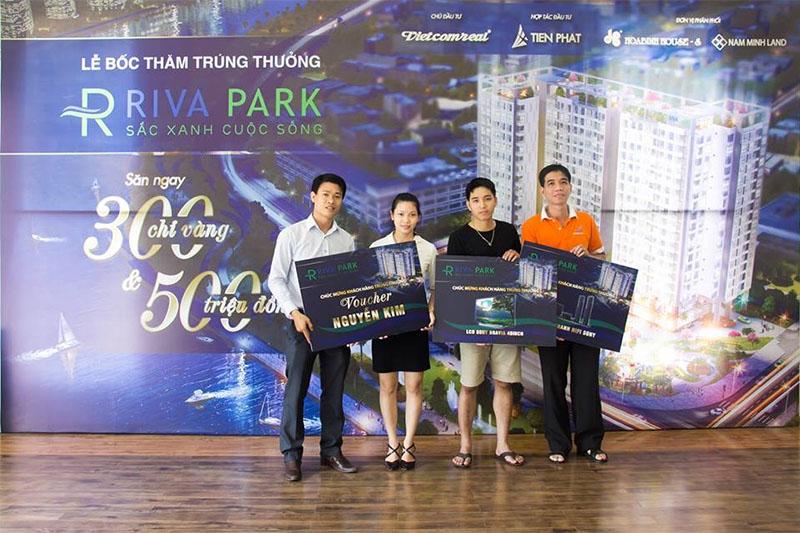Lễ bốc thăm trúng thưởng dự án căn hộ cao cấp Riva Park 4