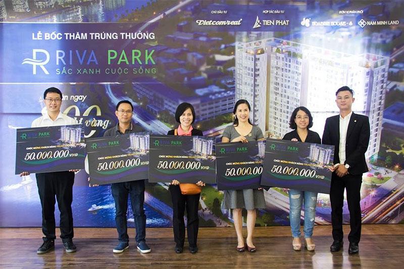 Lễ bốc thăm trúng thưởng dự án căn hộ cao cấp Riva Park 3
