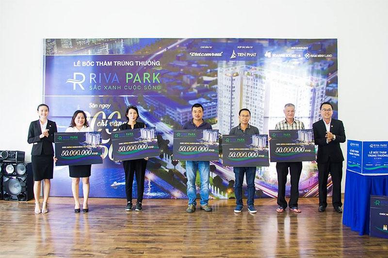 Lễ bốc thăm trúng thưởng dự án căn hộ cao cấp Riva Park2