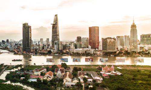 Nhu cầu thuê văn phòng TP HCM cao nhất Đông Nam Á