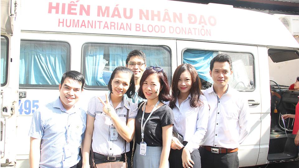 Tiến Phát tham gia hiến máu nhân đạo 1