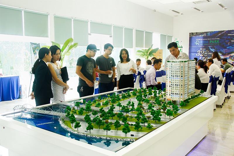 Lễ bốc thăm trúng thưởng dự án căn hộ cao cấp Riva Park 5