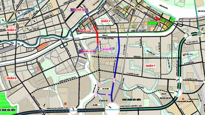 Gần 1.250 tỉ đồng xây cầu Nguyễn Khoái bắc qua kênh Tẻ 2