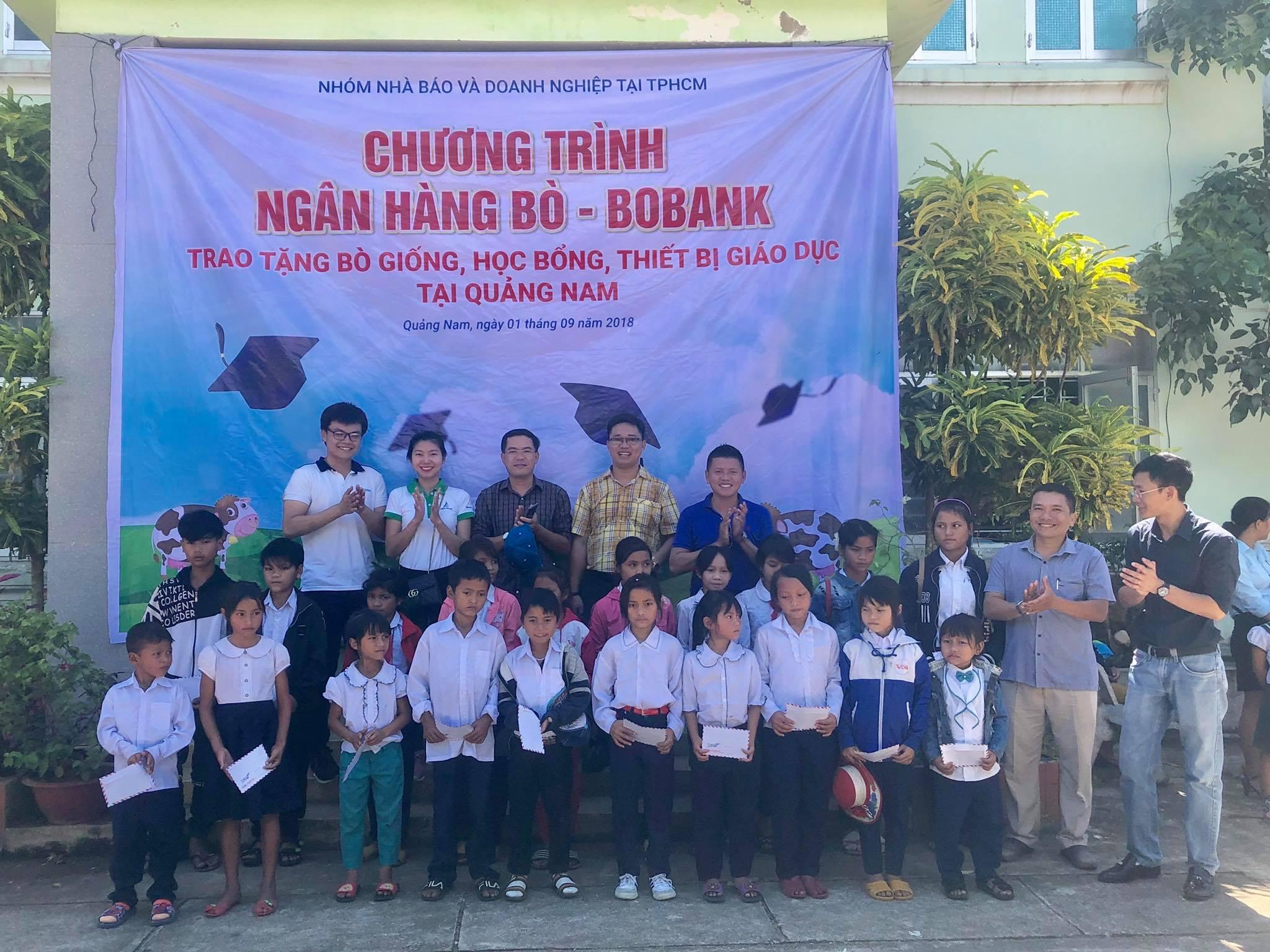 Chương trình Ngân hàng bò – BoBank trao tặng đợt 1