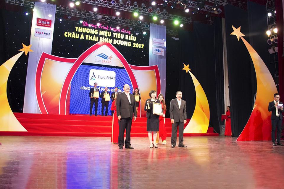 Tiến Phát Corp được vinh danh Top 10 Thương Hiệu Tiêu Biểu Châu Á – Thái Bình Dương 2017 1