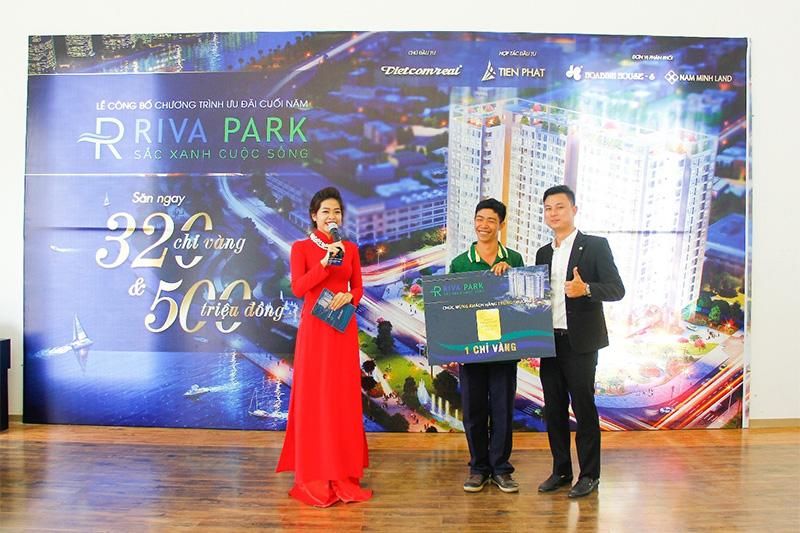 Lễ bốc thăm trúng thưởng dự án căn hộ cao cấp Riva Park 7