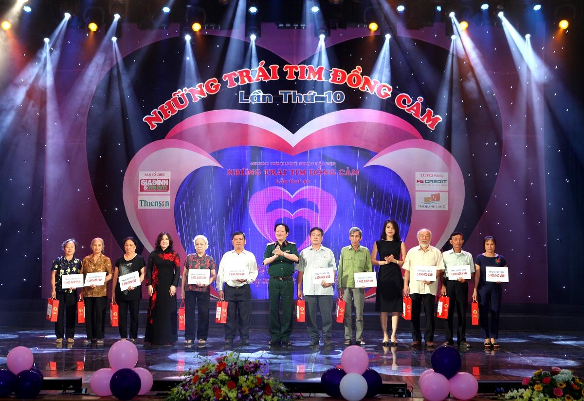 Tiến Phát lần thứ 3 đồng hành cùng chương trình Những trái tim đồng cảm